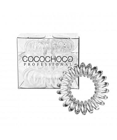 3x Резинка для волос COCOCHOCO - Crystal Clear